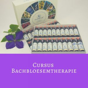 Cursus Bachbloesemtherapie